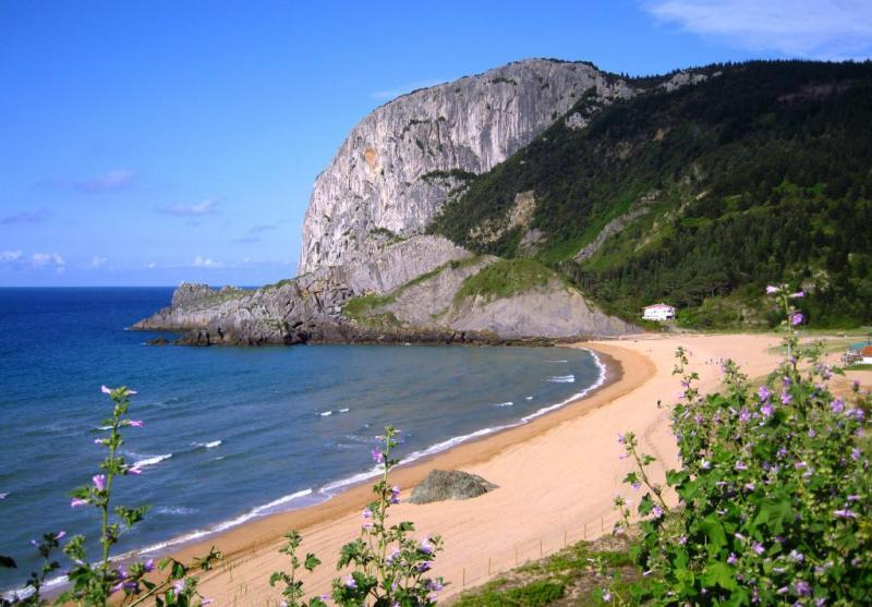 La playa de Laga, País Vasco