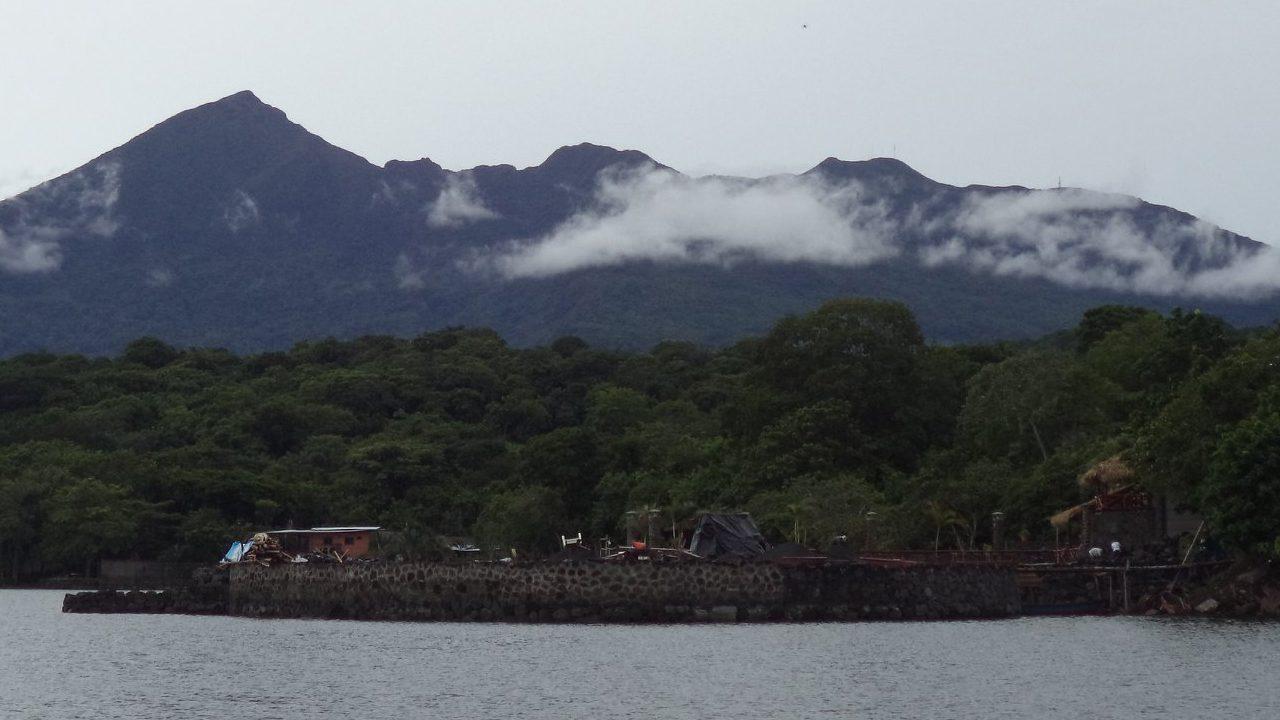 Volcán en Nicaragua